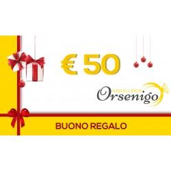 Buono Regalo 50 Euro